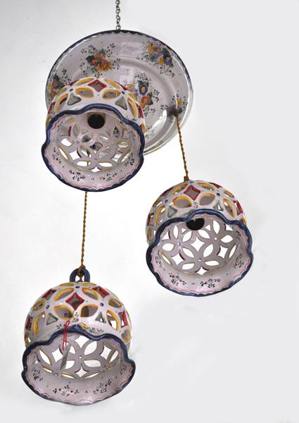 Lampadario Ceramica Di Vietri.Lampadari Vietri Store S R L