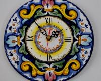Piatto orologio da parete Decoro_ Barocco Blu cm.20 € 26,00