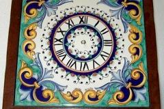 Mattonella orologio Arca Decoro_Barocco cornice in legno