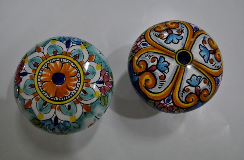 Lampadario ceramica di vietri: lampadario ceramica zeppy. lampadario